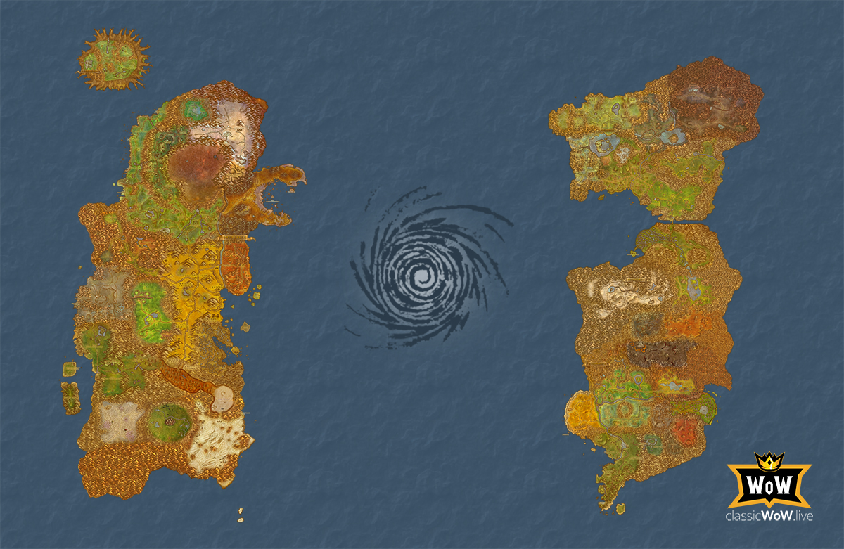 Atlas - Azeroth map for Classic World of Warcraft ...